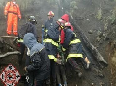 Mueren tres excursionistas junto a volcán de Guatemala