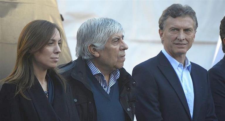 Moyano reinaugura  un sanatorio de Camioneros e invitó a Macri y Vidal