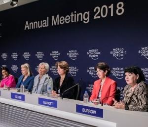 Solo el 21% de los participantes del Foro Económico Mundial son mujeres