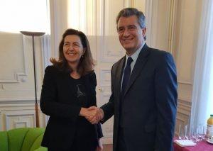 Etchevehere se reunió en París, con autoridades de la OCDE y la OIE