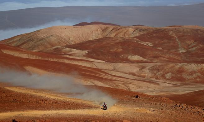 Walkner ganador de la octava etapa del Dakar perú
