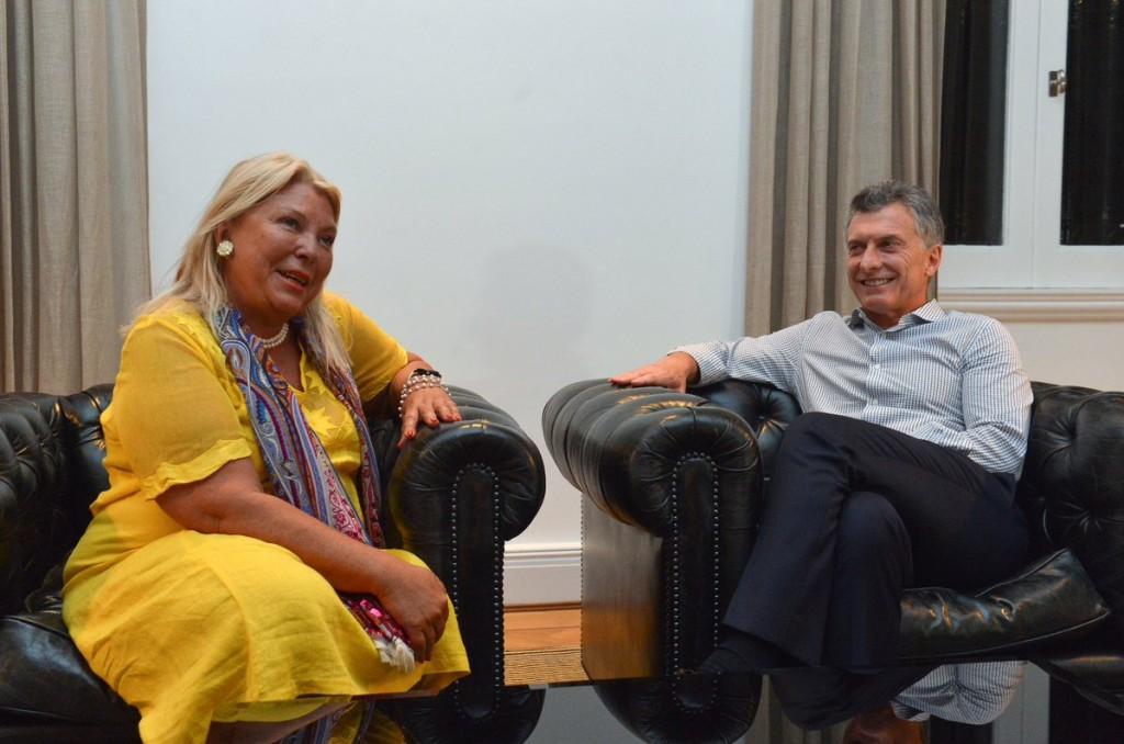 Macri y Carrió se reunieron ayer