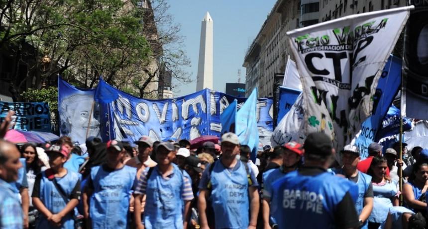 Piqueteros preparan una marcha para febrero