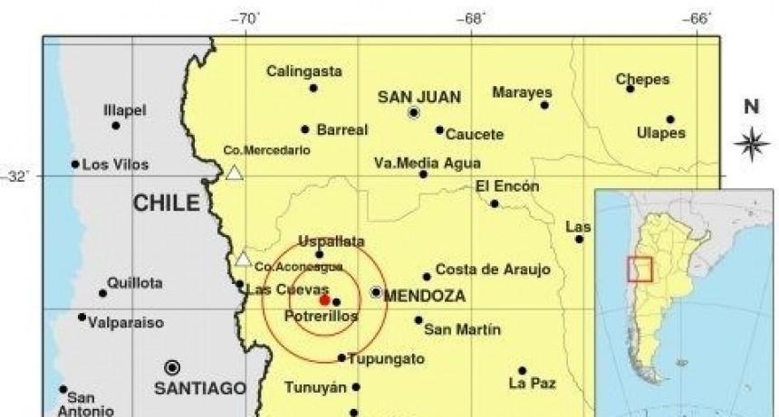 Tembló esta madrugada en Mendoza