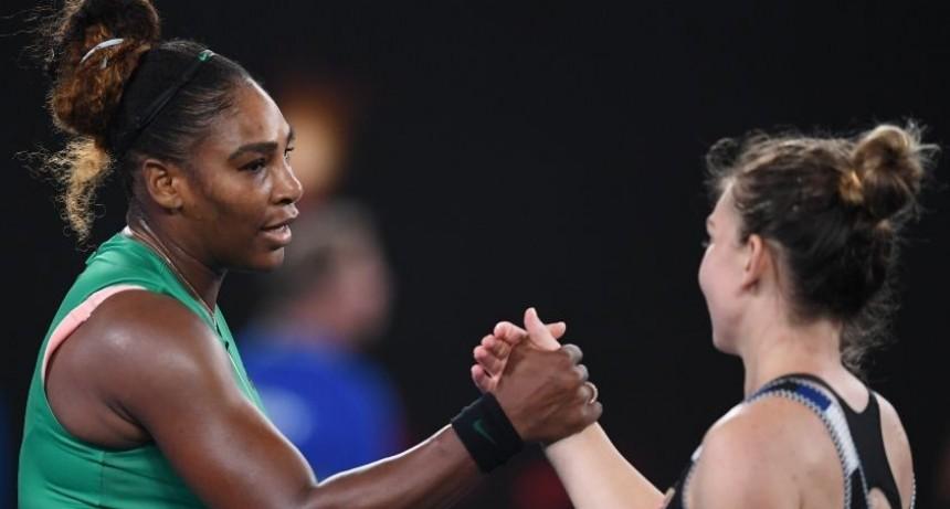 Serena da el golpe ante Halep