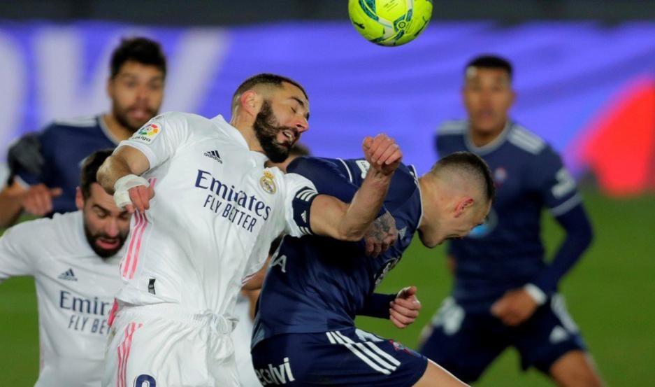 Real Madrid se impuso por 2 a 0 ante el Celta