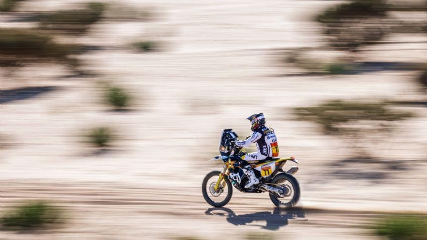 Los argentinos en el top 10 tras la primera etapa en motos