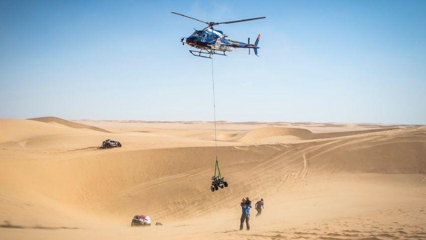 El argentino Santiago Hansen abandona el Dakar en Arabia Saudita