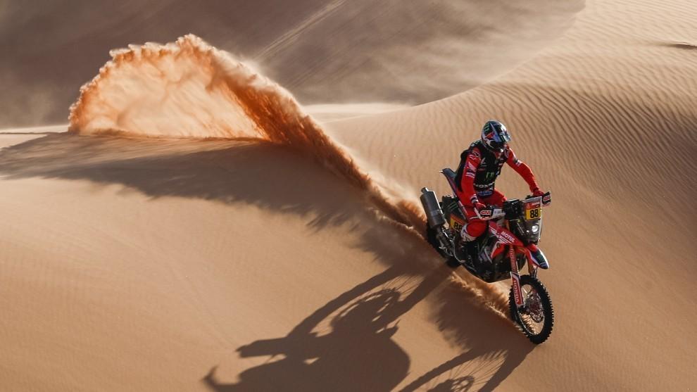 Joan Barreda se quedo con la 4ta etapa del Dakar 2021