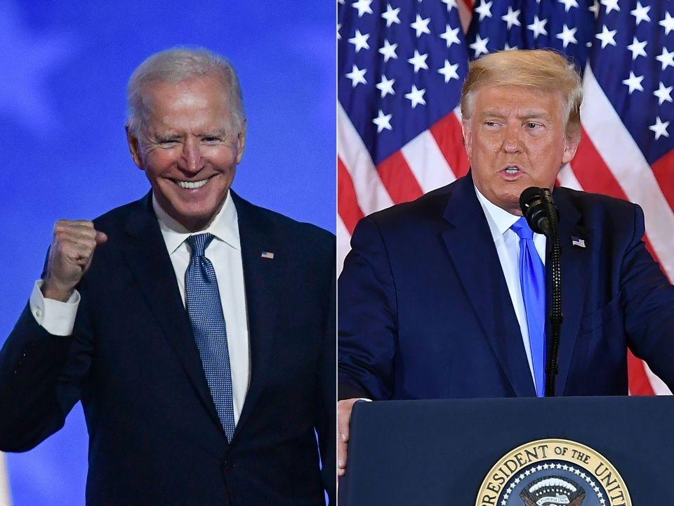 Trump confirma que no irá a la toma de posesión de Biden