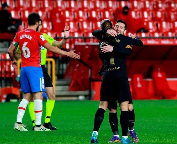 Barcelona derrotó 4-0 al Granada