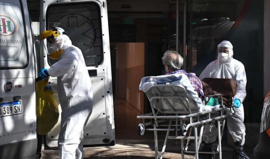 Argentina: 160 muertes y 8.704 nuevos contagios de COVID-19