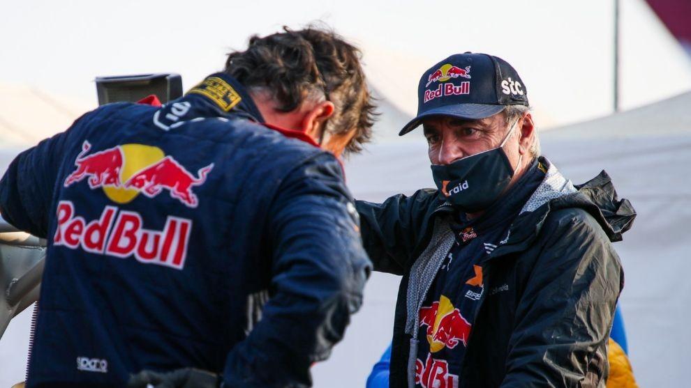 Carlos Sainz sin su cuarto Dakar
