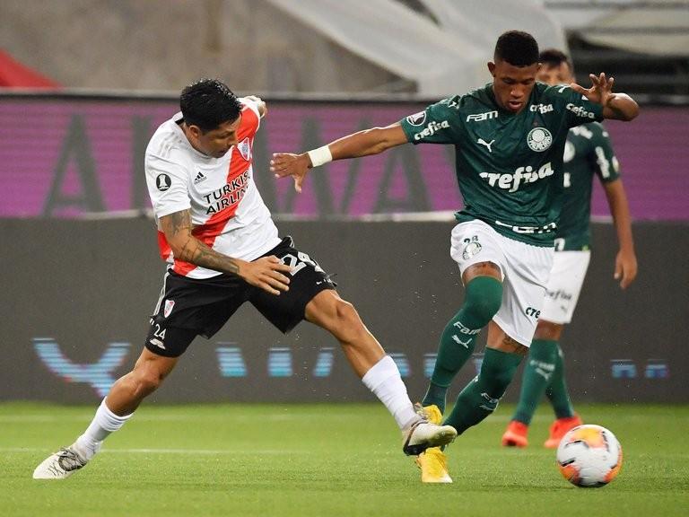 River le gana 1-0 a Palmeiras EN VIVO