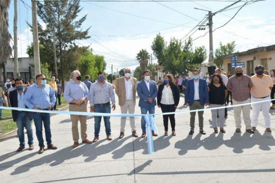 El gobernador recorrió obras del Valle de Lerma