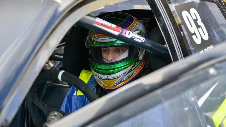 El Dipy debut en la categoría Top Race y accidente