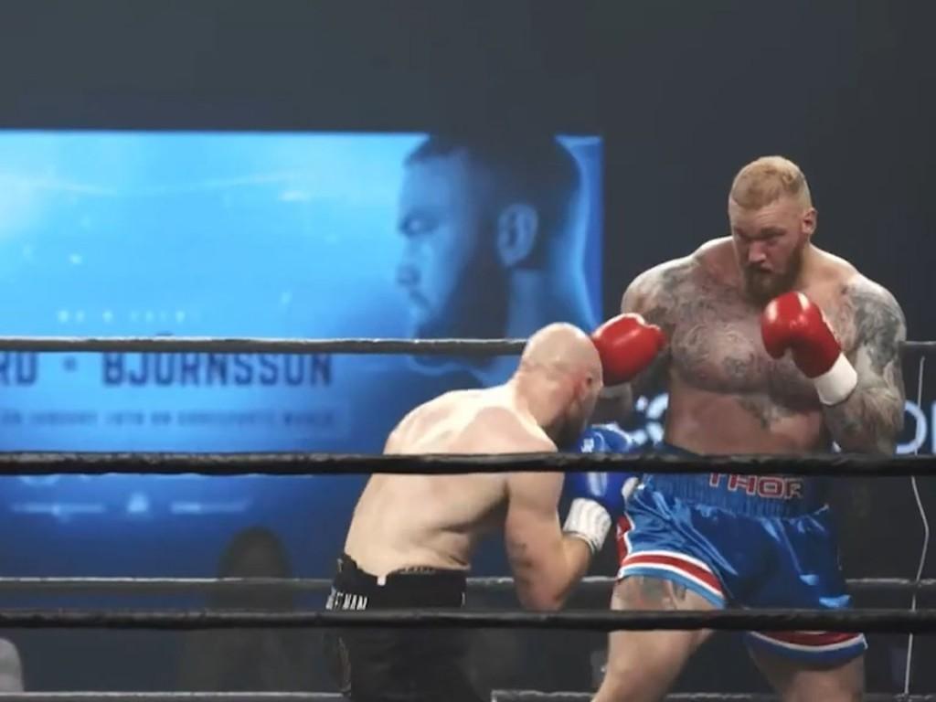 Hafthor Bjornsson espectacular combate Steven Ward