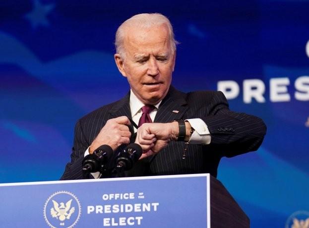 Joe Biden a horas de su asunción