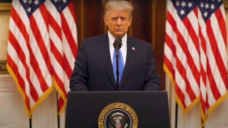 Trump:'Hicimos lo que vinimos a hacer, y mucho más'