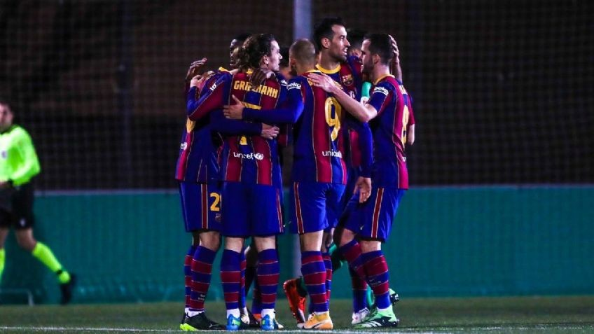 Barcelona le ganó en tiempo suplementario 2 a 0 a Cornellá