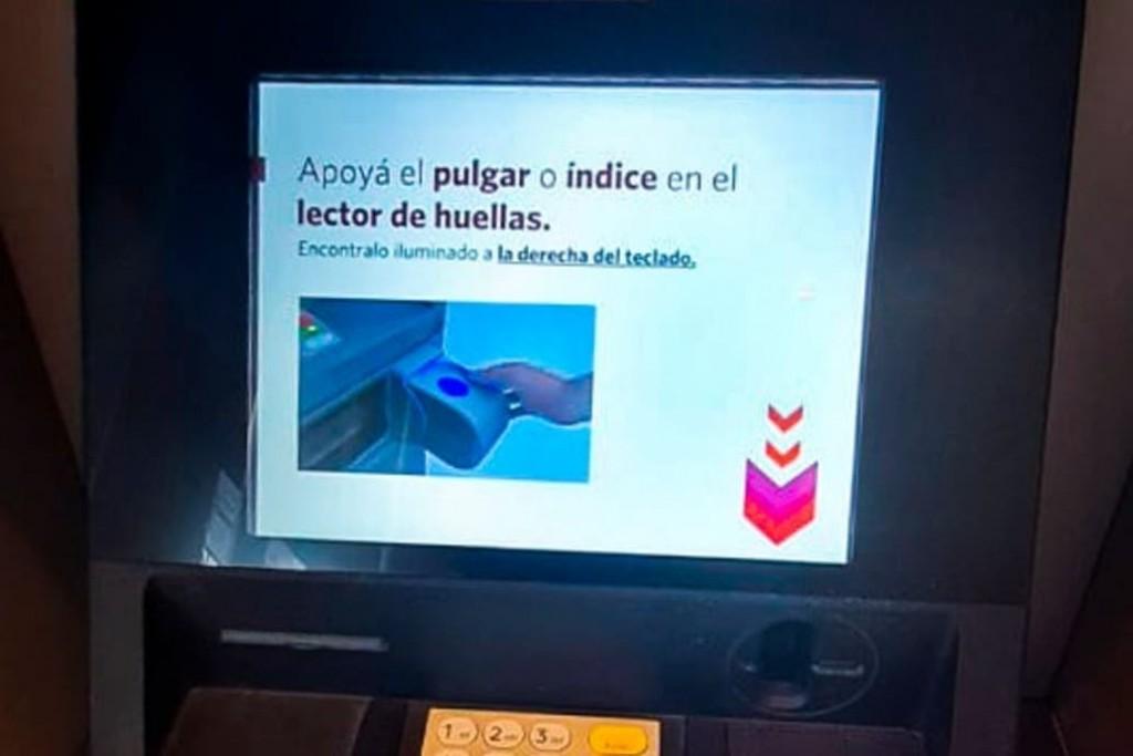 Huella digital: Cómo serán los nuevos cajeros automáticos y cuándo estarán disponibles