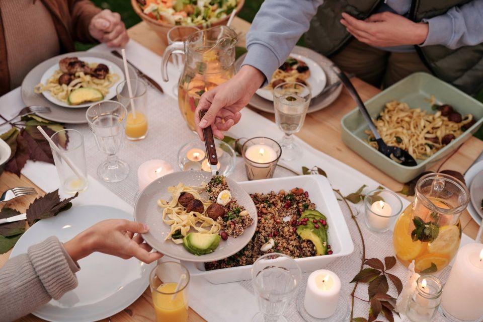 comer para sentirte lleno y sin comer en exceso