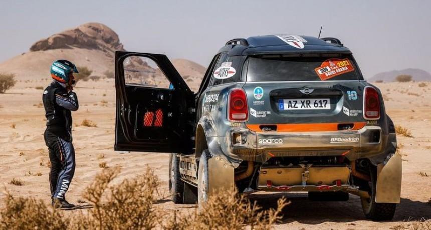 Orly Terranova abandonó en la 7° Etapa el Rally Dakar