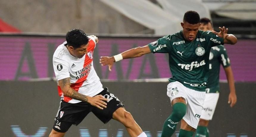 River le gana 2-0 a Palmeiras EN VIVO
