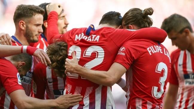 Atlético de Madrid venció por 2-0 al Villarreal