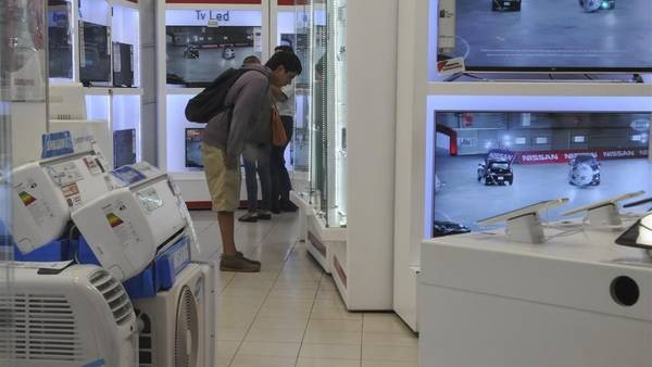 Las ventas de electrodomésticos crecieron 21%