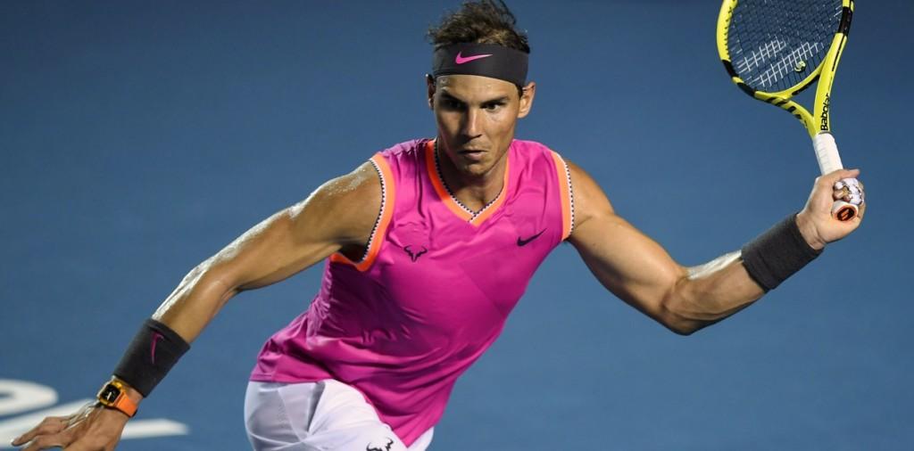 Rafael Nadal perdió en el ATP de Acapulco