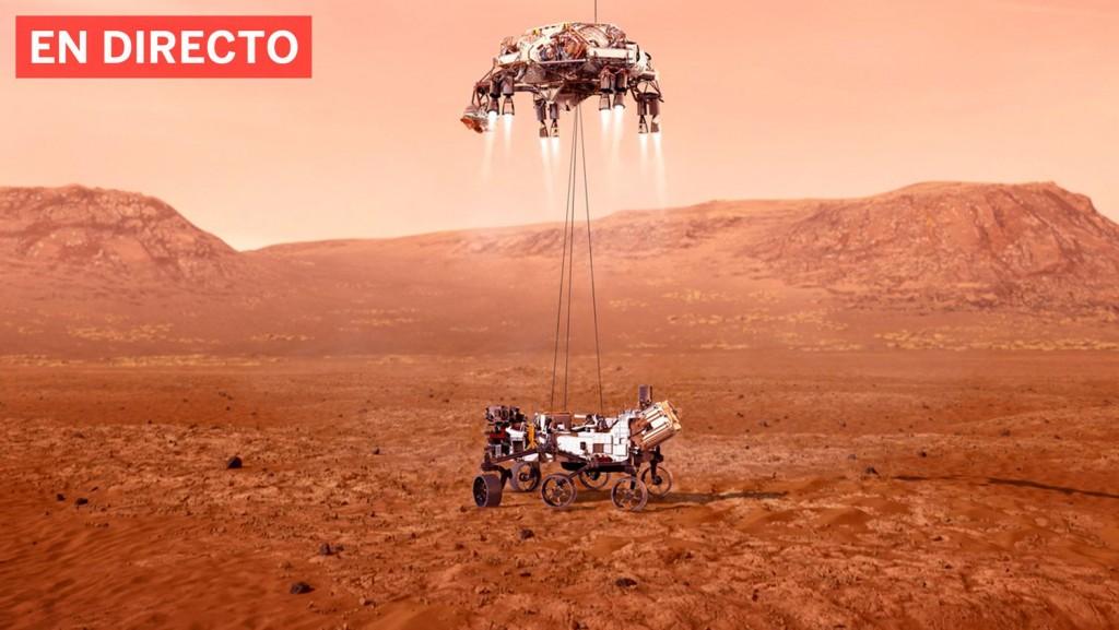Mars Perseverance llega a Marte EN VIVO