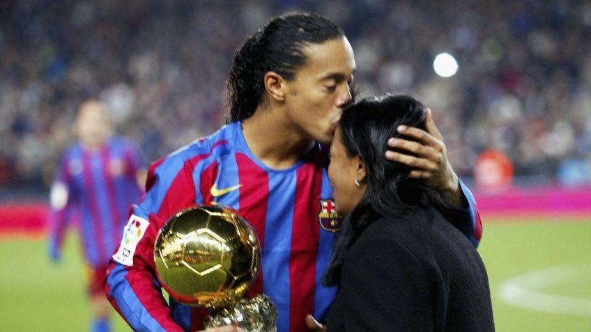 Murió la madre de Ronaldinho