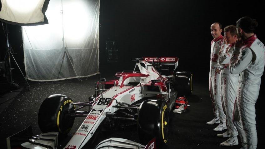 Presentan el Alfa Romeo para participar en la Fórmula 1