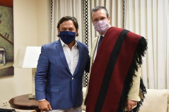 El Gobernador recibió a Tristán Bauer