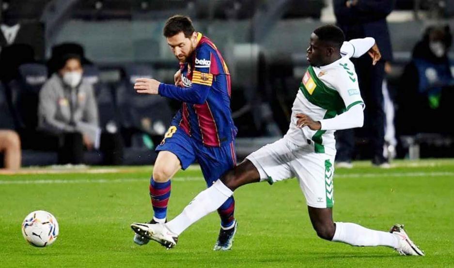 Barcelona le gana a Elche EN VIVO