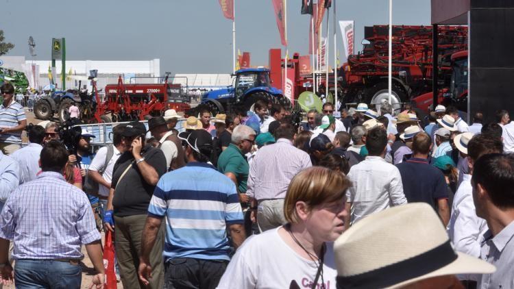 Expoagro 2018: la oferta tecnológica extranjera mostró sus maquinarias