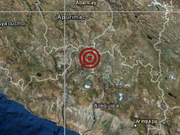 Arequipa: sismo de magnitud 4.3 no causó daño