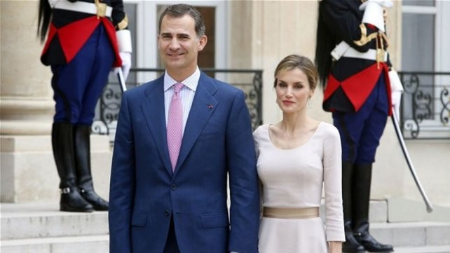 Los reyes de España llegan a la Argentina