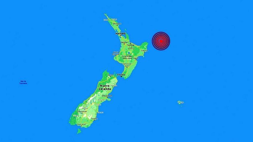Terremoto de 7,2 en Nueva Zelanda: alerta de tsunami