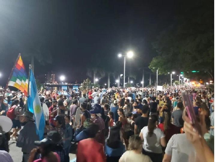 Nueva ola de protestas en Formosa contra el gobierno de Gildo Insfrán