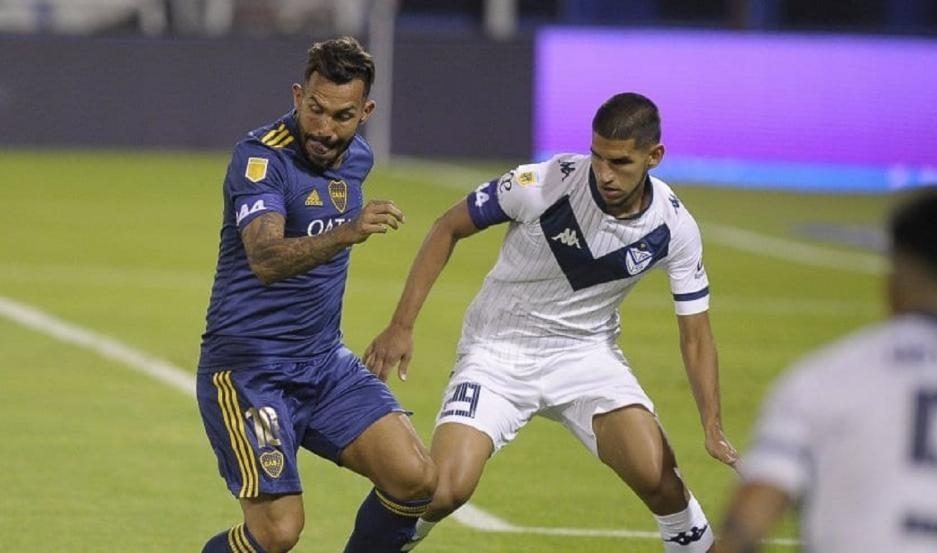 Boca  aplastó a Vélez en Liniers EN VIVO