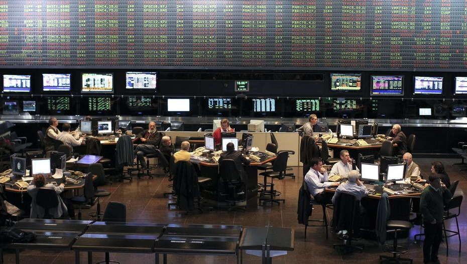 La Bolsa Porteña cerrò con pérdida de un 1,1%