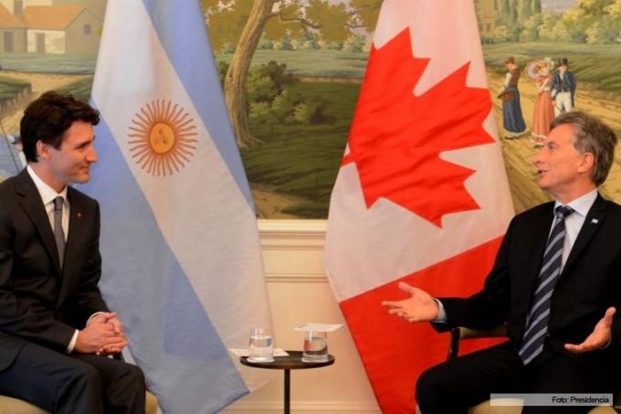 Macri asistió a una cena con Obama