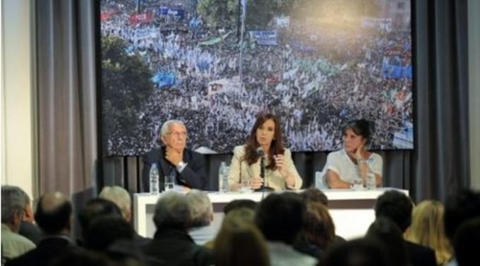 Cristina se reunió con diputados kirchneristas