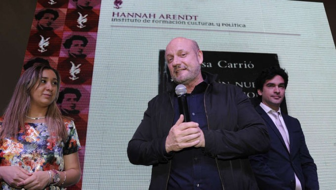 Tras la tensión por el INCAA, Campanella visitó a Peña en la Rosada