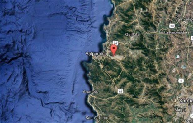 Chile:se registró un fuerte sismo de 6,7º en la costa de Valparaíso