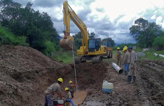 Está en marcha la 11° colectora que mejorará la vida de familias de San Lorenzo, y barrios de capital