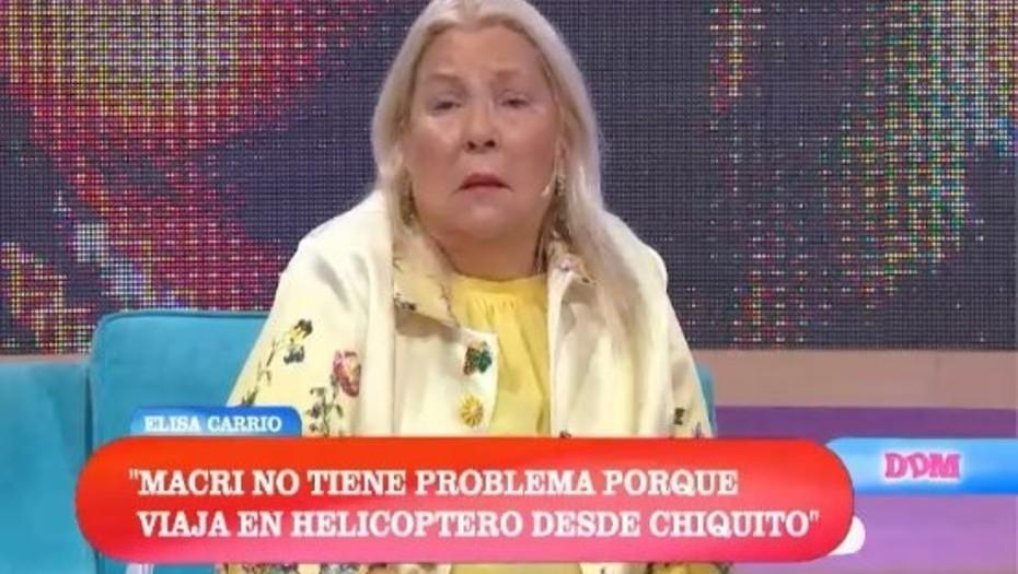 Carrió le pidió disculpas a Macri, tras un día de frases filosas y un malentendido