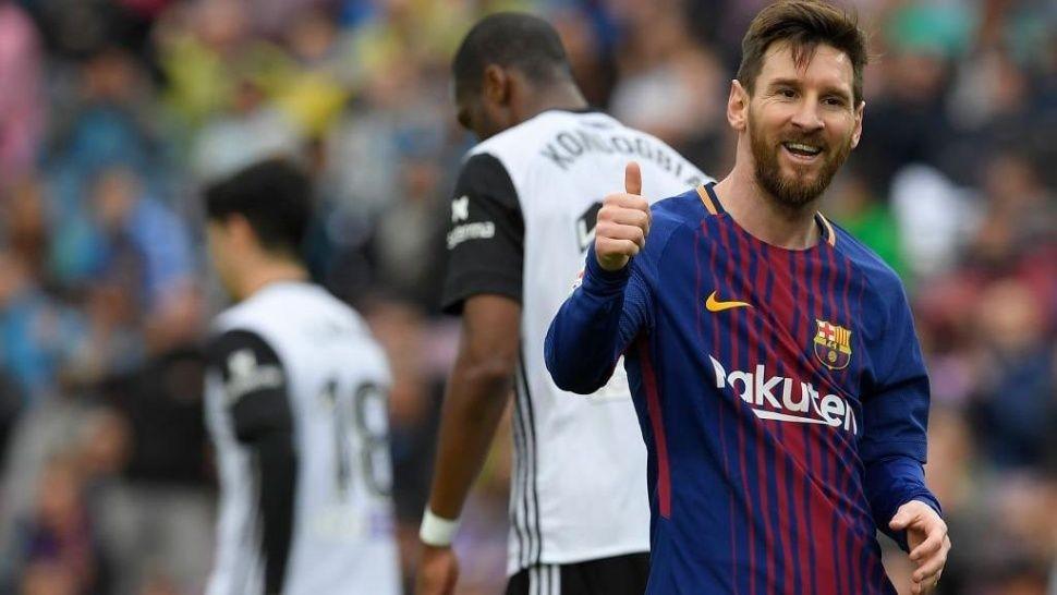 Barcelona dio vuelta a Valencia y sigue rompiendo récords